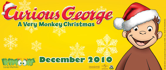 Curious George Christmas.Curious George A Very Monkey Christmas Giveaway Bargain