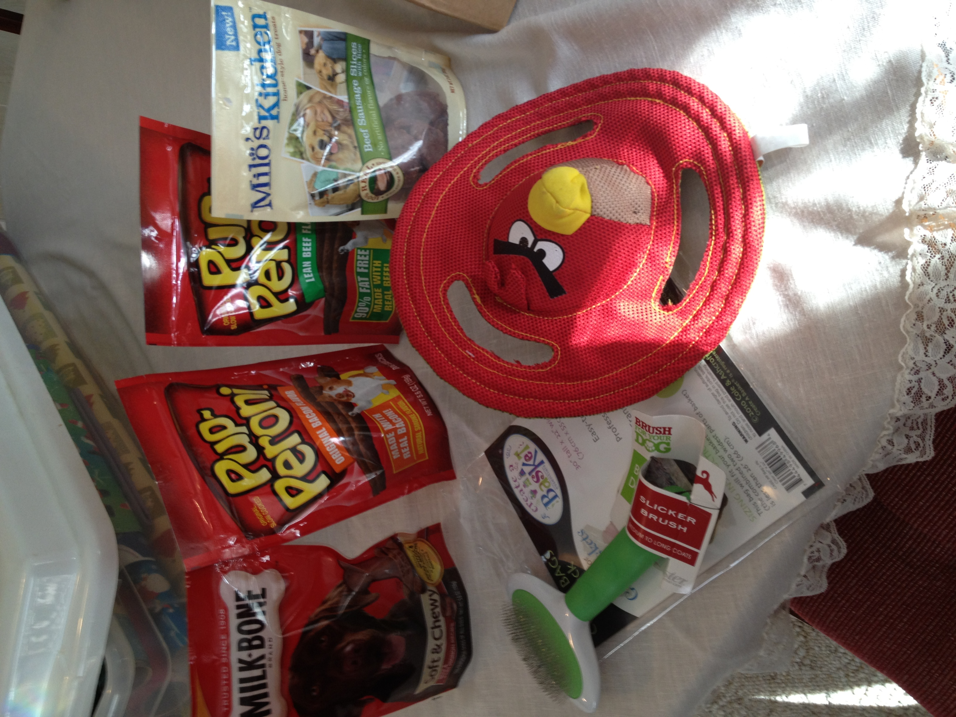 Shopping for items to make a doggie gift basket cbias for Make your own christmas gift baskets