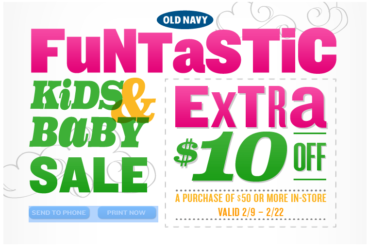 old navy baby sale coupon $10 off