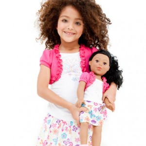 dollie and me matching girl and doll outfits