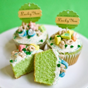 luck charms cupcakes