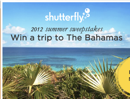 shutterfly free prints prizes contest trip