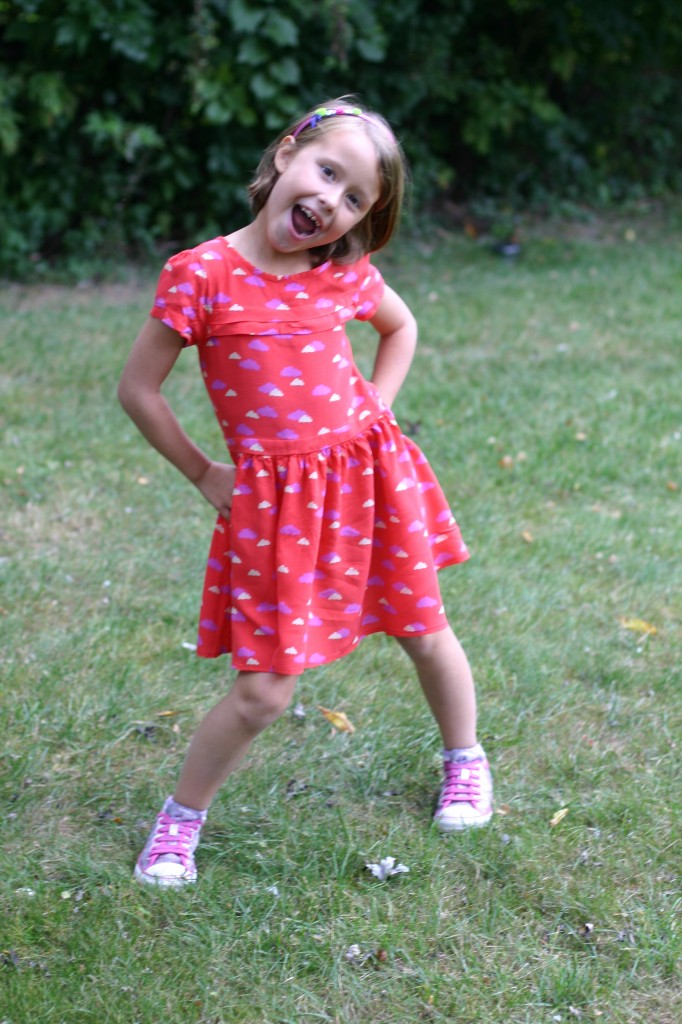 next direct kids clothing red cloud dress