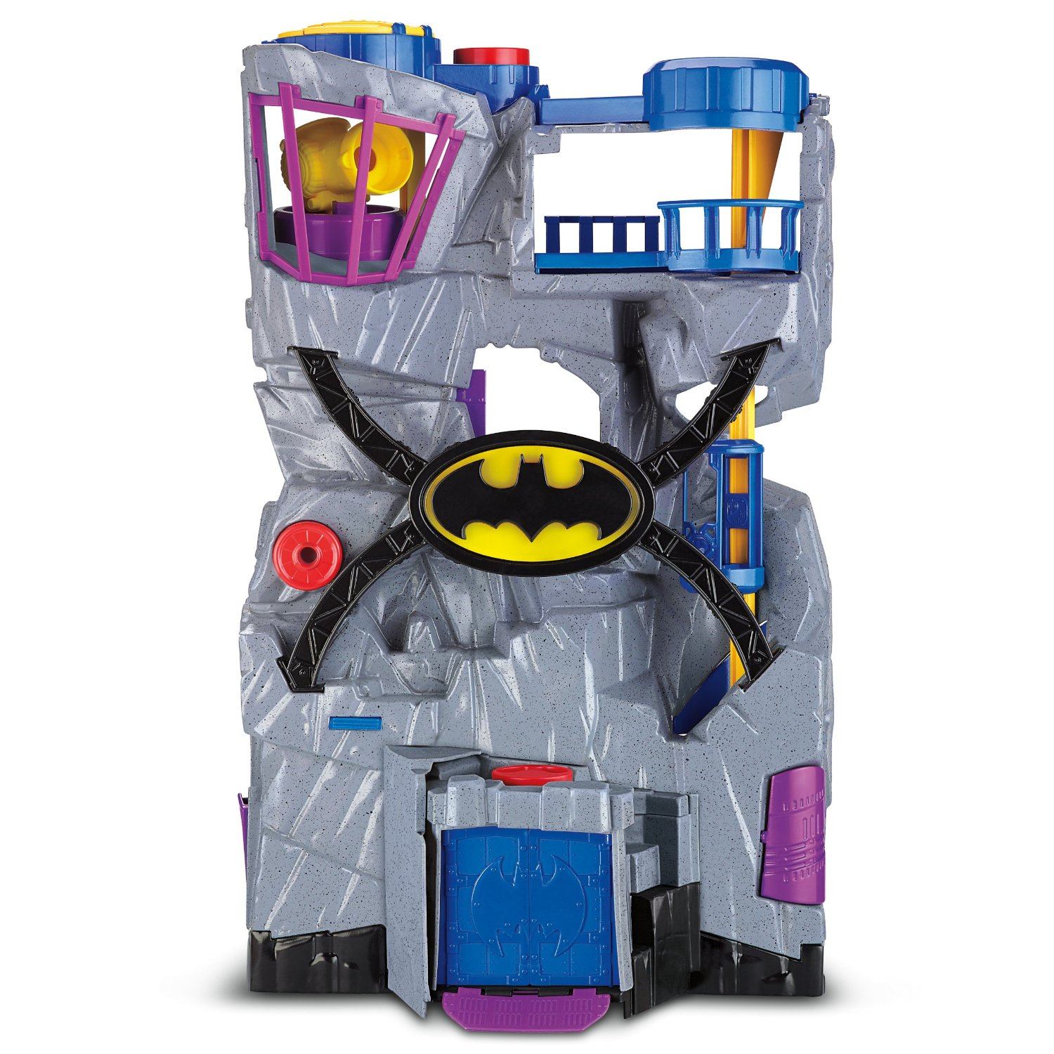 Batman Toys For Boys For Christmas : Fisher price imaginext sets at over off batcave