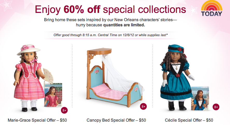 american girl coupon code sale