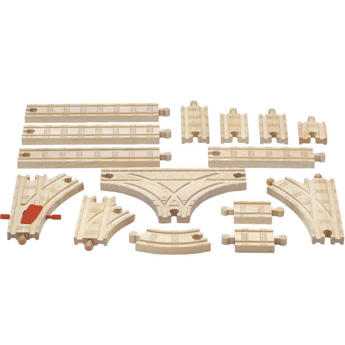 great discounts on thomas and friends wooden railway pieces at up to 66 off everyday savvy. Black Bedroom Furniture Sets. Home Design Ideas