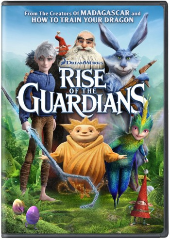 Rise the Guardians DVD