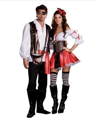 adult pirate costume sale  sc 1 st  Everyday Savvy & $10 Costume Sale - Pirate Costumes Perfect for Disney Cruise Pirate ...