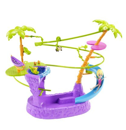 polly pocket zip and spash