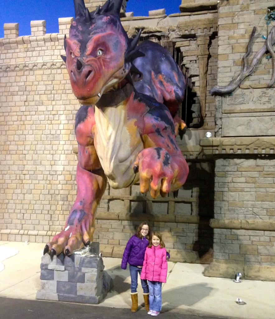ghostly manor thrill center dragon