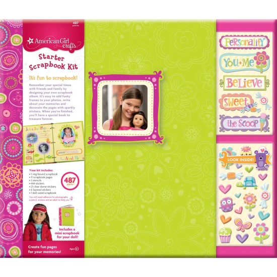 American Girl Crafts Scrapbook Starter Kit