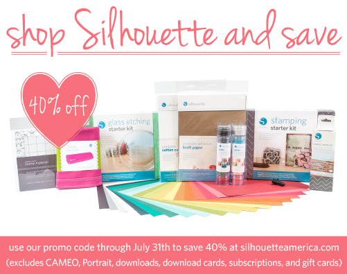 Silhouette July Updated Promotion