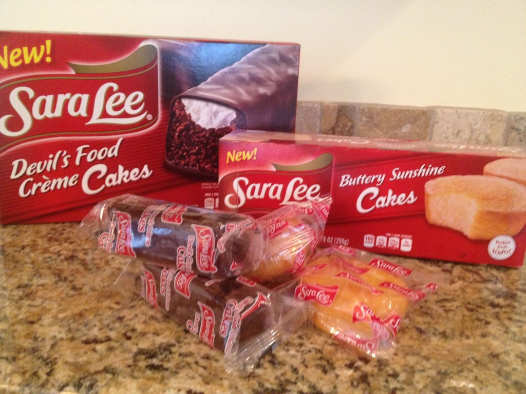 sara lee snack cakes school lunches