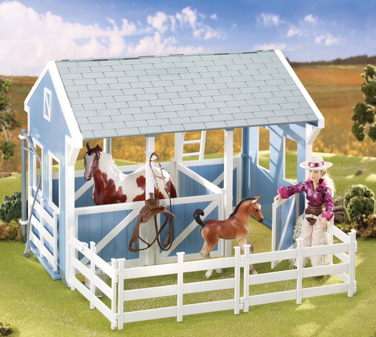 Breyer Classics Country Stable Gift Idea for Girls 6 7 8