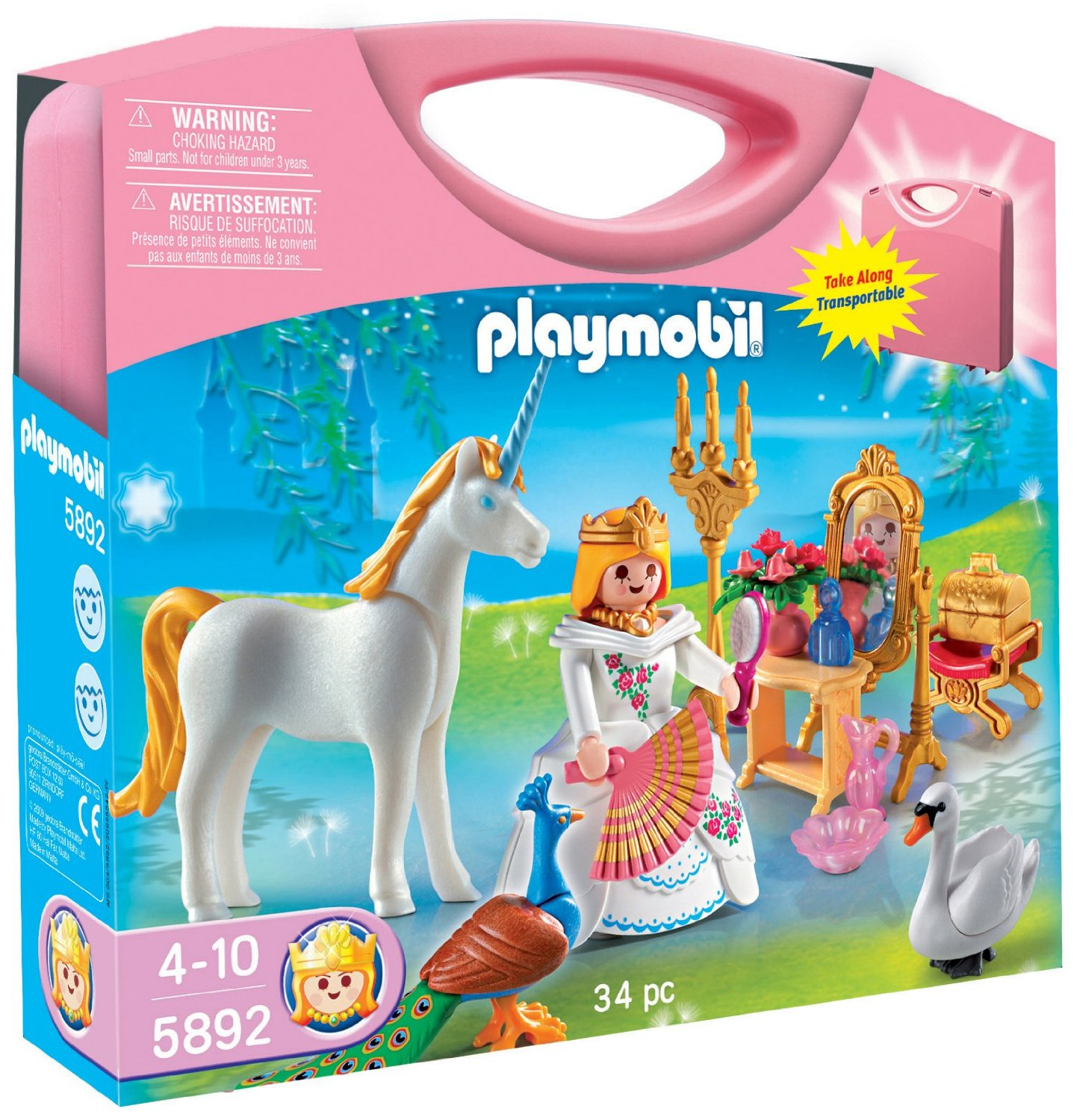 Playmobile Princess Carrying Case Playset