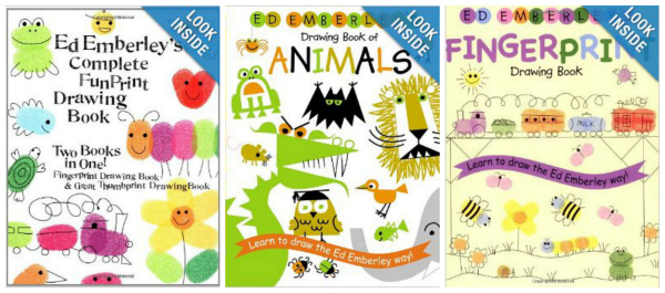 Ed Emberley Drawing Books Great Gifts for Kids Who Draw