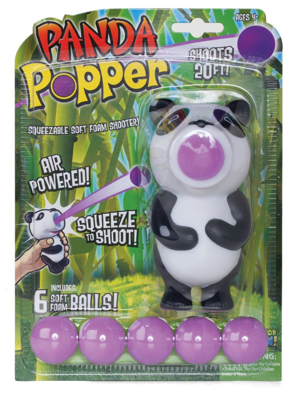 Hog Wild Panda Popper Foam Battle Toy