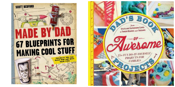 Made By Dad & Dads Book of Awesome Projects Gift idea for Men