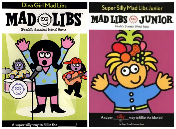 Madlibs Great Gifts for Girls