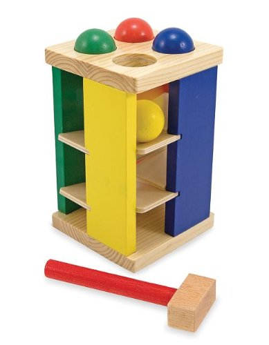 Melissa and Doug Deluxe Pound and Roll Tower
