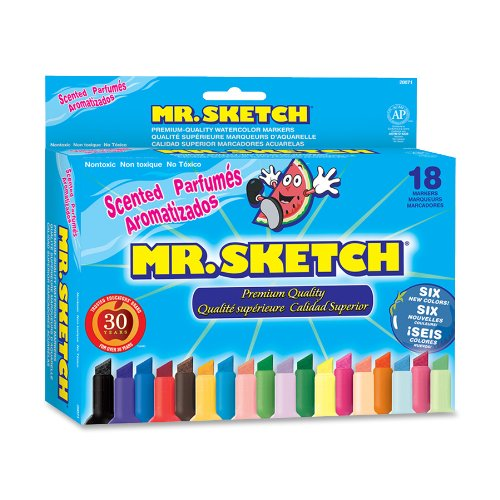 Mr Sketch Scented Water Color Markers 18 Pack