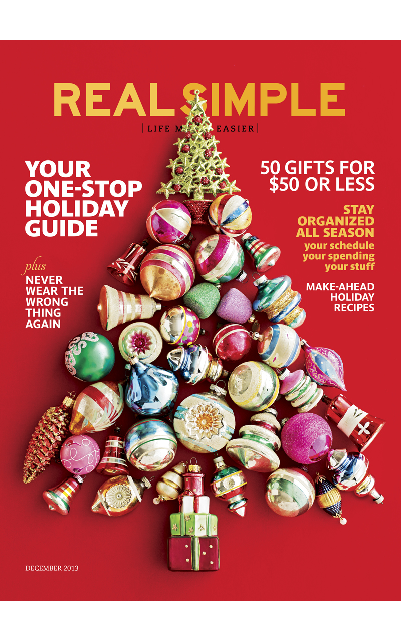 Real Simple Magazine Gift Idea for Women