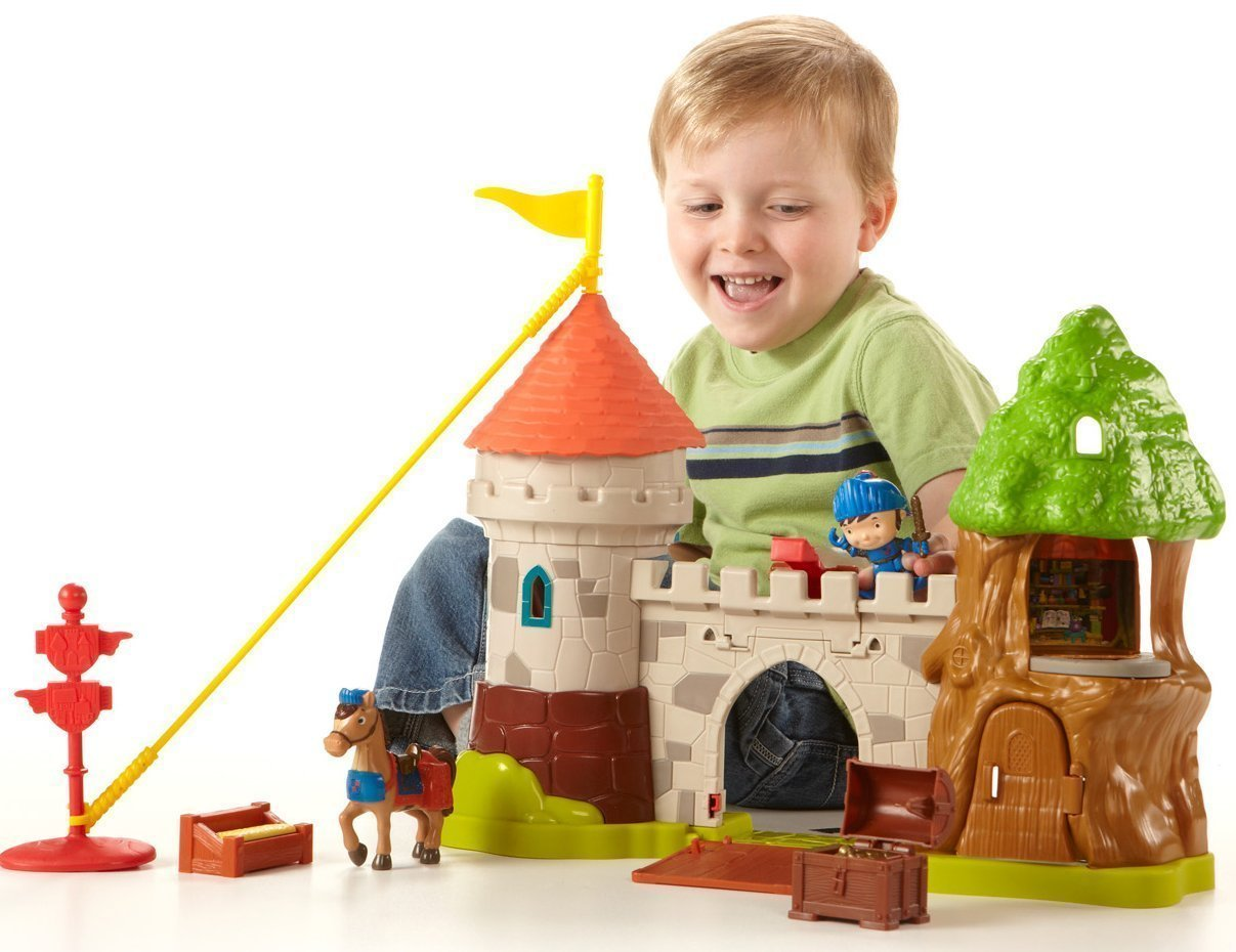 Toy Castles For Little Boys : Huge price drop on fisher mike the knight klip klop