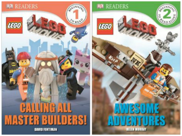 Lego Movie Reader Books at a Discount